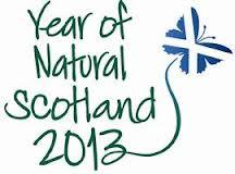 Year of natural Scotland 2013 logo