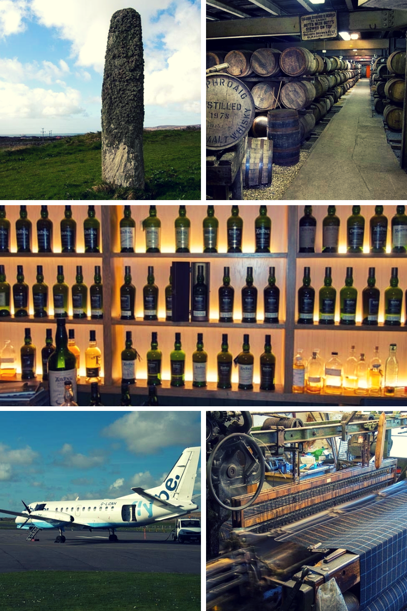 Distilleries, woollen mills, standing stones and whisky - a visit to Islay (C) WL Sleigh