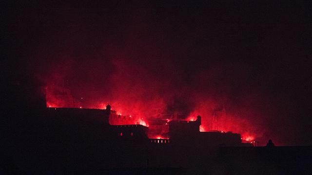 Bonfire Night at Edinburgh Castle 2012
