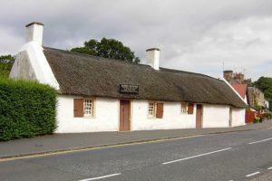 Robert's Burns' home in Alloway