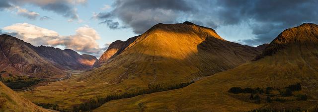 The Mountains of Glencoe