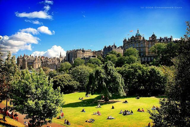 Edinburgh Princes' Street Gardens
