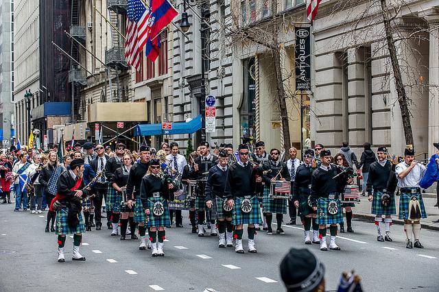 Tartan Day Parade, New York