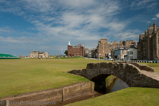St Andrews Old Course (Photo Credit: Hannah Swithinbank)