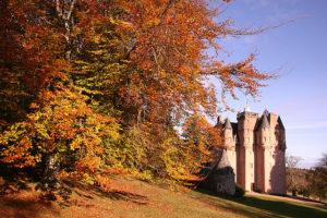 Craigievar Castle in Autumn (credit Michael Maggs)