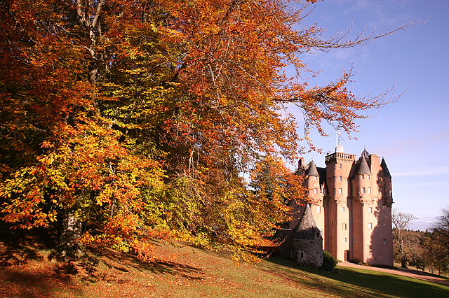 Craigievar Castle in Autumn (credit Michael Maggs)