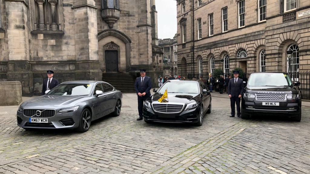 WL Sleigh Chauffeur Drive Services Edinburgh Scotland